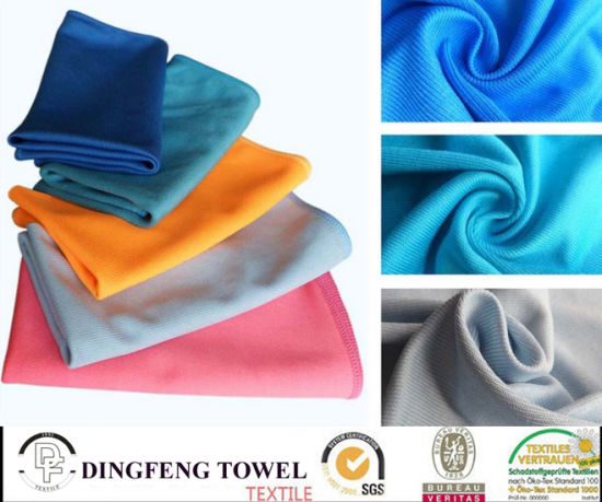 Wholesale Quick Dry Soft Yarn Dyed Kitchen/Floor/Table/ Furniture/ Car/ Tea Towels for Household Df-8839