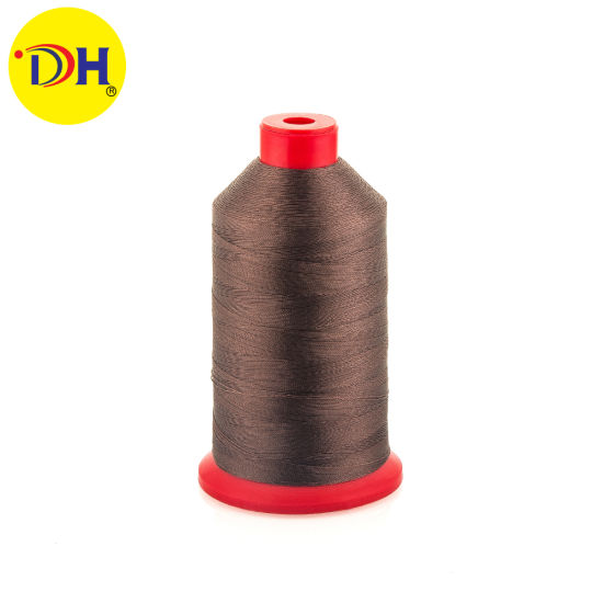 Factory 100% Nylon Bonded Sewing Thread Nylon Monofilament 210d/3 200g for Garment Accessories