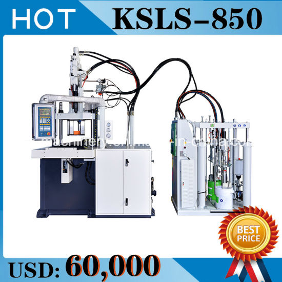 Vertical Liquid Silicone Injection Molding Machine --Made in China (KSLS-850) pictures & photos