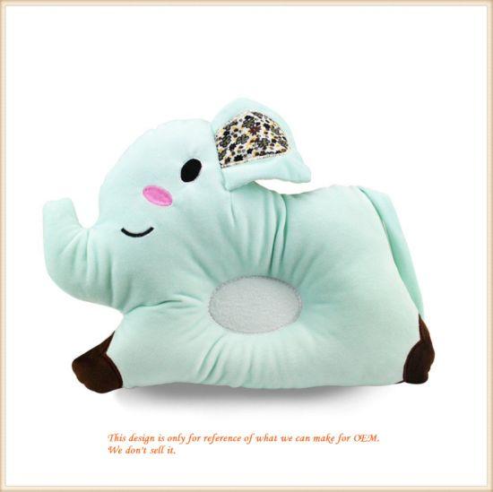 Elephant Newborn Baby Pillow Comfortable Baby Flat Head Sleeping Cushion