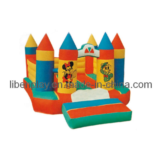 Small Size Cartoon Inflatable Castle for Kids Bouncingg pictures & photos