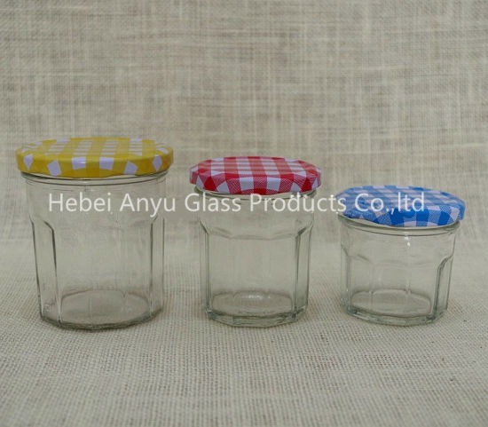 Small Size 50ml Clear Glass Mason Jar / Jelly Jar / Jam Jar with Screw Lid pictures & photos