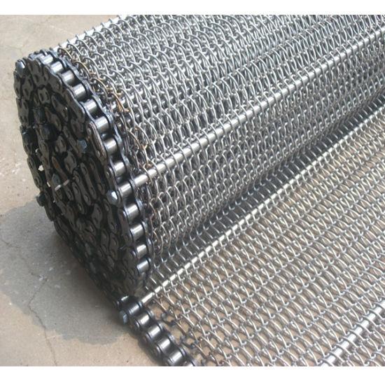 Stainless Steel 304 Fire Resistant Balance Conveyor Mesh Belt