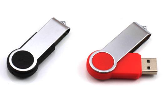 Twist Style Custom USB Flash Drive, Logo Printing Accepted U135/Sy059
