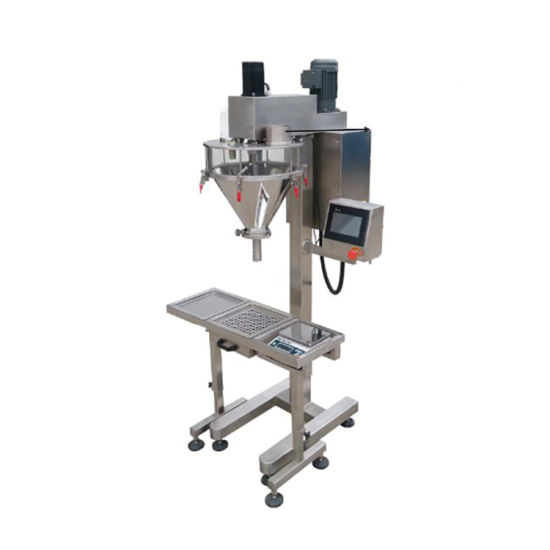Baby Milk Semi-Automatic Powder Gum Powder Auger Filling Machine