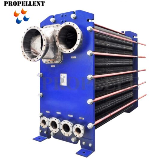 Plate Type Evaporator Condenser Heat Exchanger for Sugar Glucose Starch Citric Acid Steam Condensation Molasses Cooling