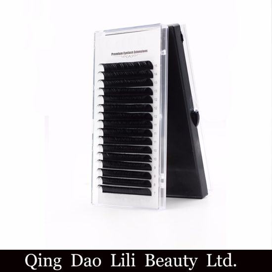 17767794c95 Wholesale Volume Fans Private Label Mink Lashes Individual Eyelash  Extensions pictures & photos
