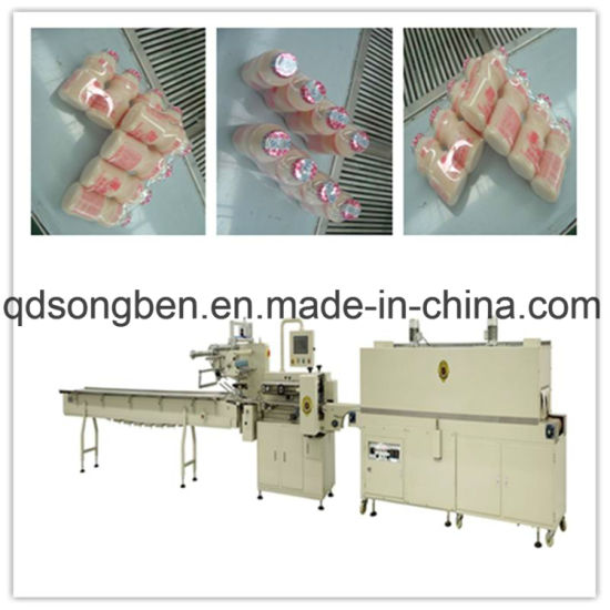 Bottle Shrink Packaging Machine with Feeder pictures & photos