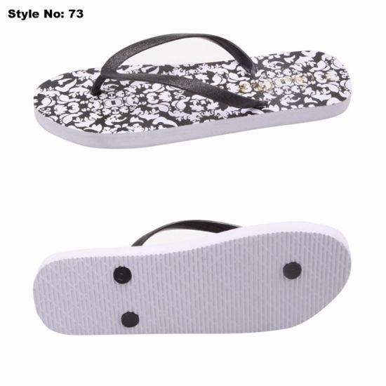723a650fe China Latest Design Cheap Men Beach Walk PE Rubber Slipper - China ...
