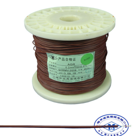 China Heat Resistant Electrical Coated Silicone Rubber Cable Wire ...
