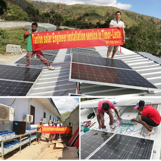 China 5kw 6kw Solar Panel System For House Use Small Off Grid
