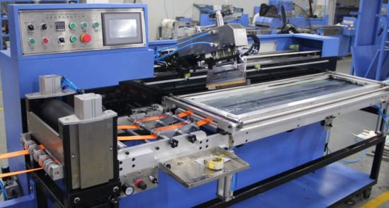 Lashing Straps Automatic Screen Printing Machine with CE SGS Certificate pictures & photos