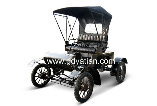 Chinese Manufacture 1903 Electric Car Classic 4 Seater Vintage Car with Ce Certification for Sale
