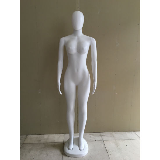White Full Body Female Big Breast with Head for Window Display Mannequin