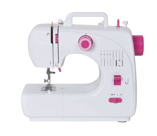 Domestic Embroidery Sewing Machine with 16 Stitch Patterns (FHSM 508)