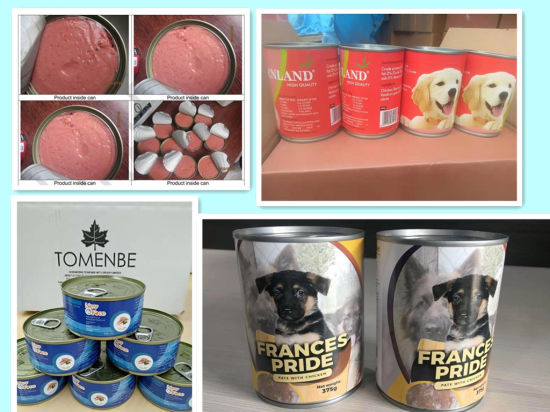 OEM Canned / Pouch Wet Pet Food Dog Food Cat Food Snacks China Factory