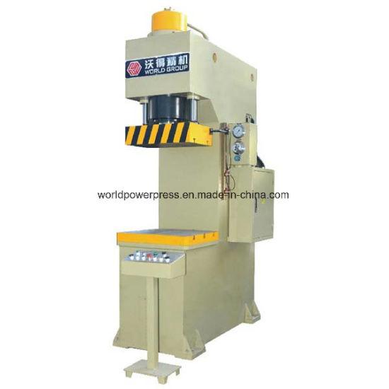 China Single Column Hydraulic Type C Frame Press - China C Frame ...
