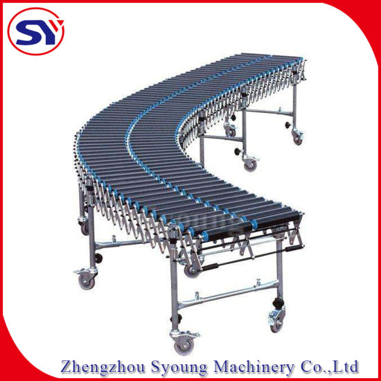 Space Saved Manual Package Idler Roller Conveyor Transmission System (SYSC)