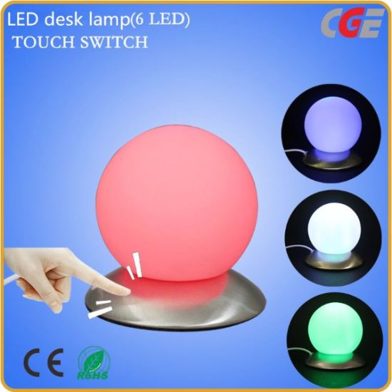 Led Lamp Desk Lights Usb Touch Control Small Night Light For Bedroom Lighting Table