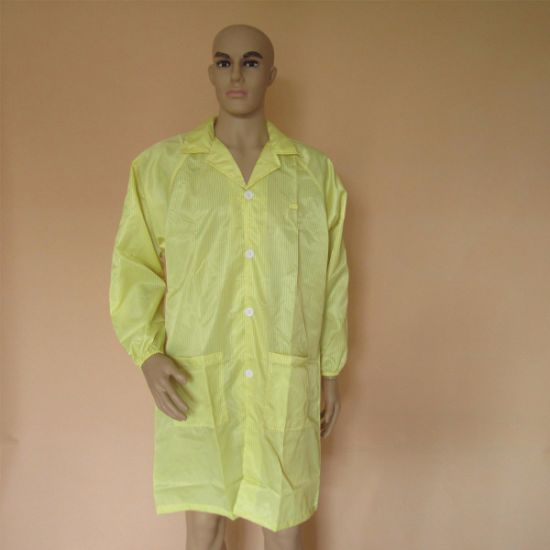 ESD Anti Static Cleanroom Coverall Smock pictures & photos