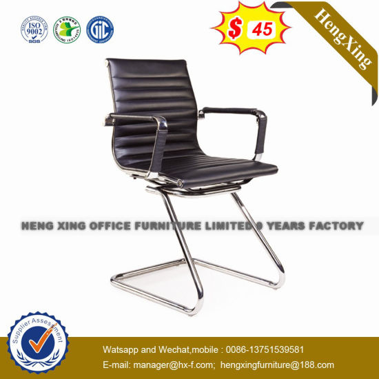 Chrome Metal Base Stackable Leather Conference Training Chair (HX-NCD514) pictures & photos