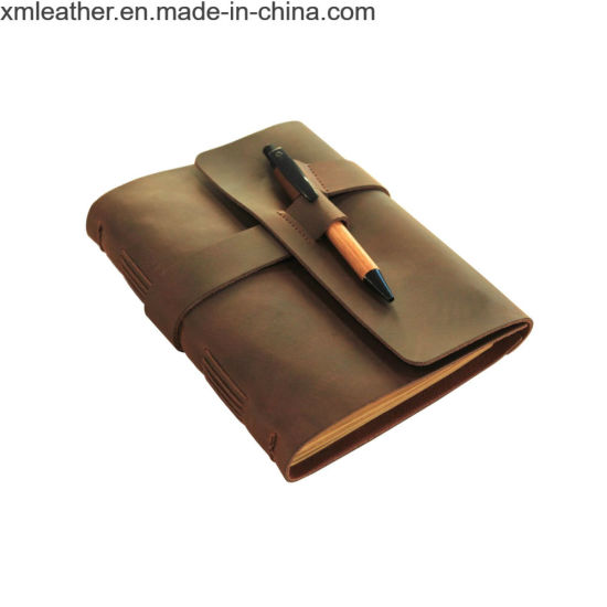 Vintage Style PU Leather Notebook Diary Travel Journal