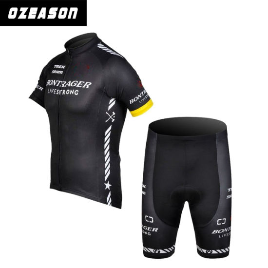 Specialized Custom Plain Black Short Sleeve Quickly Dry Cycling Jersey  pictures   photos aff3e117b