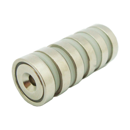 ISO/Ts16949 Outdoors Rare Earth Permanent Nicuni Coated Neodymium/NdFeB D75mm Searching Magnet Pot