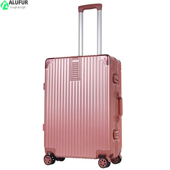 Luggage Aluminium Frame Suitcase PC 20in 22in 24in 26in