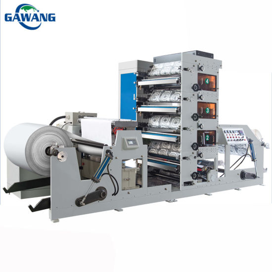 Auto High Speed Flat Type Roll to Roll Adhesive Sticker Label Die Cutting Machine with Ce
