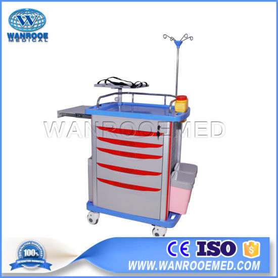 Et-75071A ABS Hospital Medical Cart Trolley Manufacturers pictures & photos