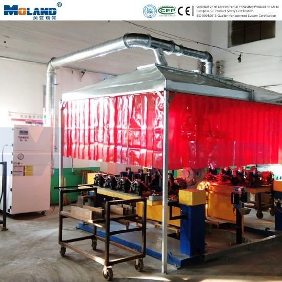 Industrial Dust Collector/Centralized Welding Fume Extraction Air Purification System