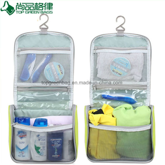 Waterproof Pocket-Trip Professional Beauty Display Hanging Travel Toiletry Bag