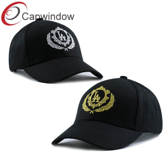 China 6 Panel La Promotional Baseball Cap Hat with Flat Embroidery ... 629f8a9cd430