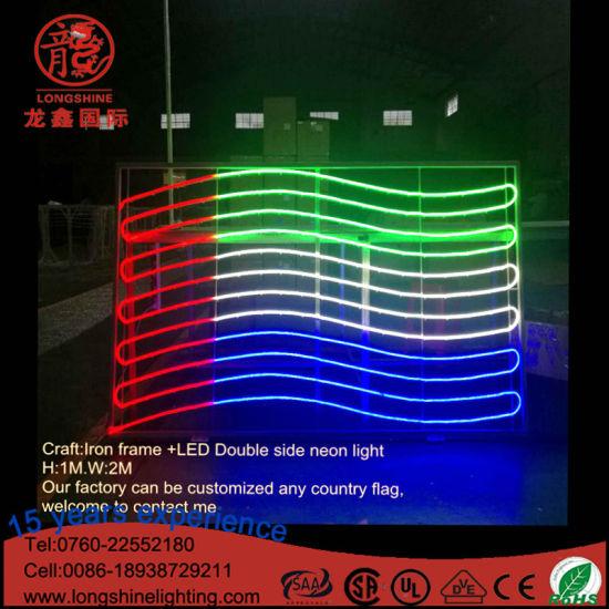 China Led Lighting Dubai Flag Mid East National Day Christmas