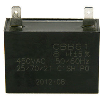 Cbb61 Run Capacitor for AC Fan Motors pictures & photos