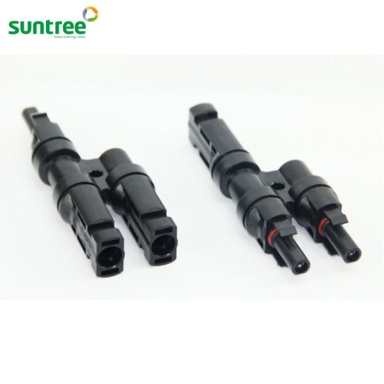 Mc4 Solar System Waterproof Connector pictures & photos