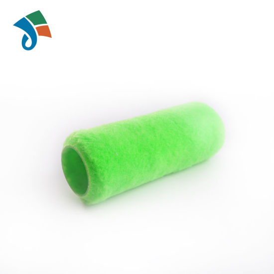 """9"""" Green Acrylic Fabric Paint Brush Paint Roller Refill Sleeve for Paintings"""