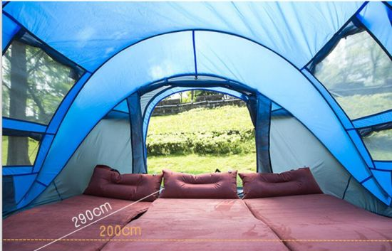Waterproof 4 Season Waterproof Family Dome Camping Tent pictures & photos
