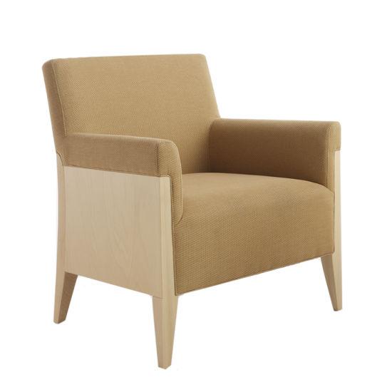 White Elegant Living Room Furniture Leisure Chair