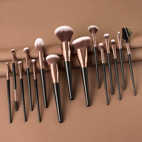 2020 Trending Products Wholesale Makeup Brushes 15PCS Vegan Make up Brushes Foundation Makeup Brush Kits
