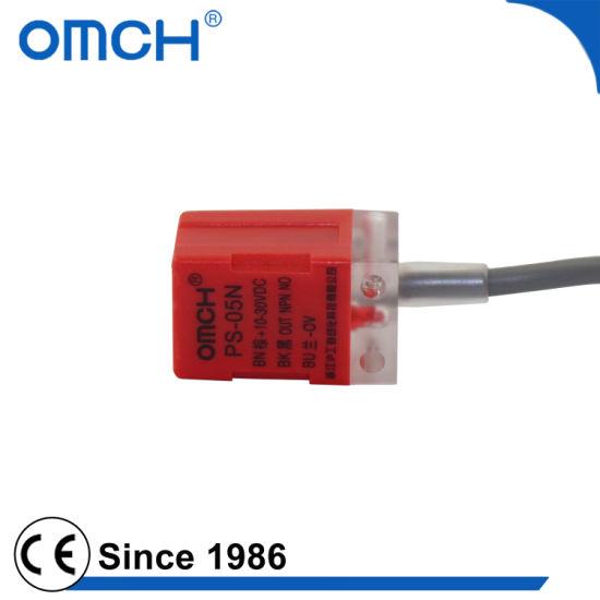 China PS-05 PNP NPN 5mm Detecting ABS Inductive Proximity Sensor ...