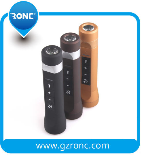 Multi-Function Wireless Mini Bluetooth Speaker with FM Power Bank TF Card