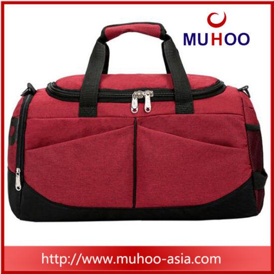 Nylon Sport Gym Duffel Travel Luggage Bag for Fitness