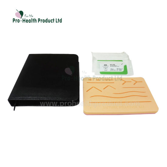 103f77b054 Surgical Training Practice Suture Kit For Student Suturing Training,  include 3 layers Large Suture Pad With Pre-cut Wounds