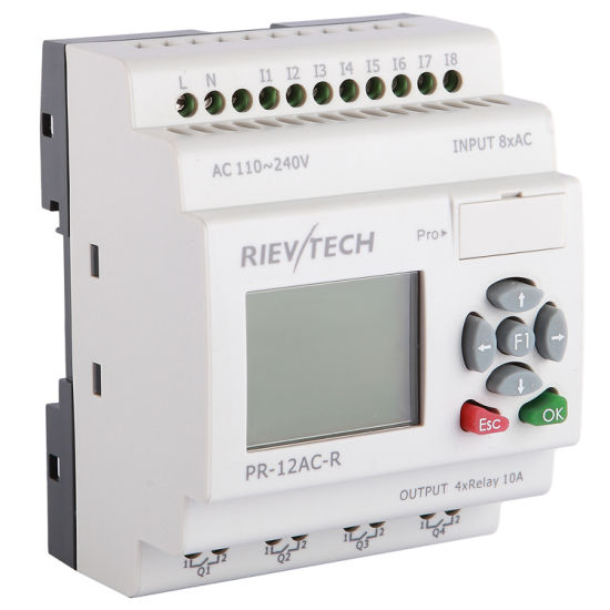 Factory Price Programmable Logic Controller HMI PLC (Programmable Relay PR-12AC-R-HMI)