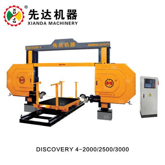 Discovery4 - 2000 Diamond Wire Limestone Block Cutting Machine