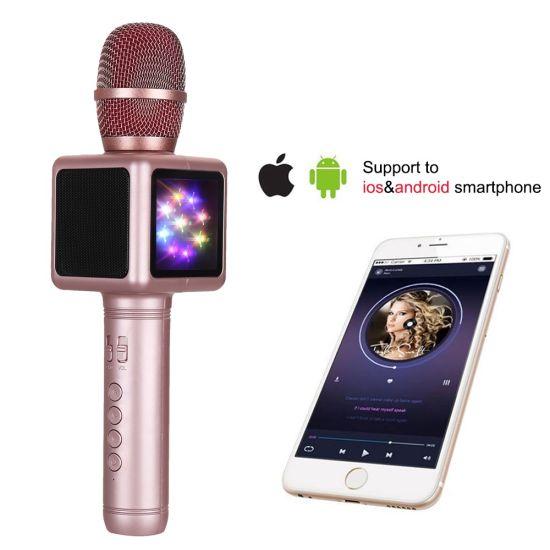 China New-Microphones-E101-Wireless-KTV-Karaoke-Stereo