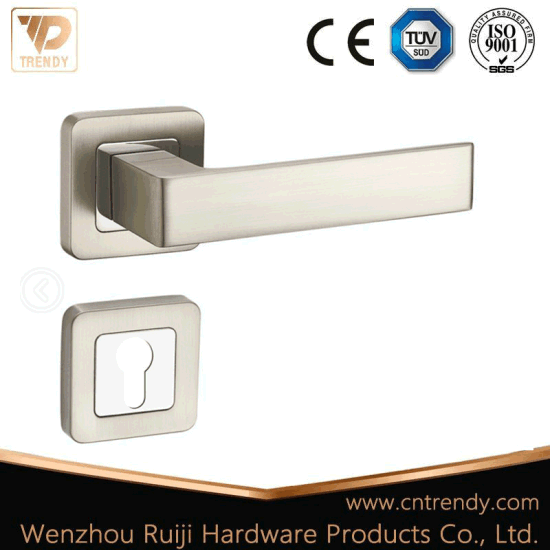 2018 Latest Zinc Alloy Lever Handle Door Lock (Z6329-ZR23-CL) pictures & photos