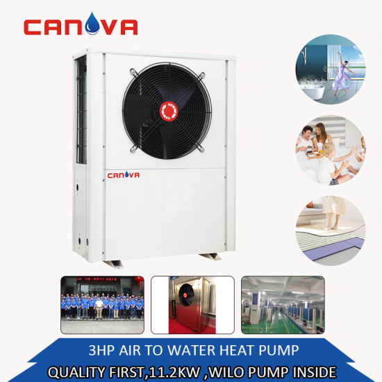 Canova House Evi Air Source Heat Pump Water Heater for Europe Market -20c Degree Place